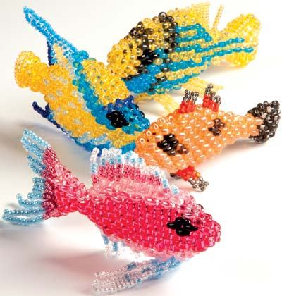 how to make a bead fish counter