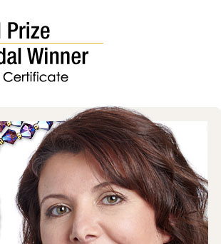 Grand Prize Gold Medal Winner: Sonia Lidozzi