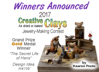 Fire Mountain Gems and Beads 2017 Creative Clays Contest Winners Announced!