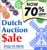 Dutch Auction Sale - Now 70% Off