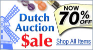 Dutch Auction Sale - Now 70% Of