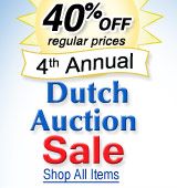 Dutch Auction - 40% Off