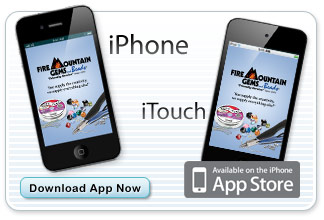 Fire Mountain Gems and Beads Catalog app for Apple iPhone and iTouch