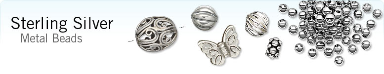 Sterling Silver Metal Beads