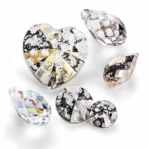 Crystal Patina SWAROVSKI ELEMENTS for Fall/Winter 2015-16