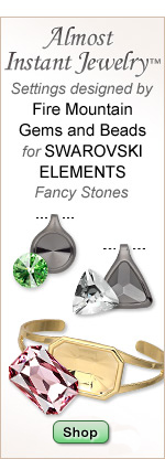 Plated Settings for Swarovski Elements Fancy Stones