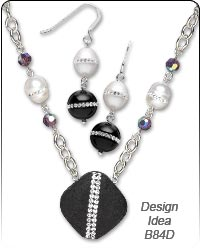 Design Idea B84D Necklace and Earrings