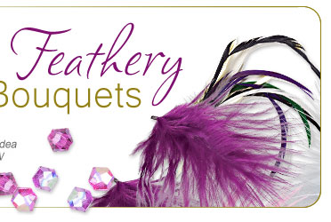 Feathery Bouquets