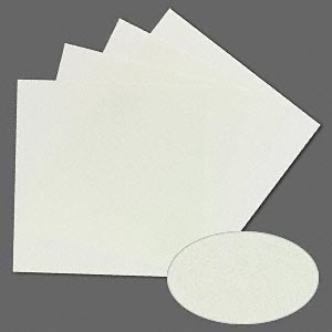 3m™ wetordry™ polishing paper, silicon carbide, light green, 8000 grit, 5x5-inch square. sold per pkg of 4.