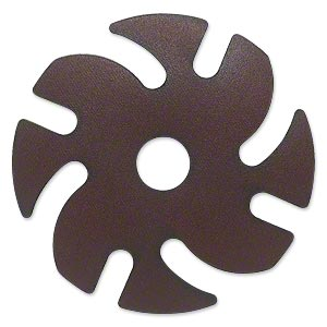 Abrasive disc, 3M™ Ninja™ Premium Diamond Grinding, plastic, brown, 220 grit, 3-inch replacement disc for Jooltool™. Sold individually.