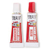 Adhesive, Super Glue®, epoxy, 5-minute, 2-part high-strength. Sold per pkg of (2) 0.1-ounce tubes.