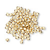 Bead, 14Kt gold-filled, 3mm smooth bicone. Sold per pkg of 20.
