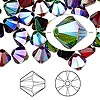 Bead, Swarovski crystal, Crystal Passions®, Alchemy, 8mm Xilion bicone (5328). Sold per pkg of 144 (1 gross).