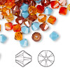 Bead, Swarovski crystal, Crystal Passions®, Sonoran, 6mm Xilion bicone (5328) and faceted bicone (5301). Sold per pkg of 144 (1 gross).