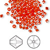 Bead, Swarovski crystal, Crystal Passions®, hyacinth, 3mm Xilion bicone (5328). Sold per pkg of 144 (1 gross).