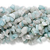 Bead, amazonite (natural), medium chip, Mohs hardness of 6 to 6-1/2. Sold per pkg of (10) 36-inch strands.