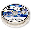 Beading wire, Accu-Flex®, .925 sterling silver, 7 strand, 0.019-inch diameter. Sold per 30-foot spool.