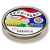 Beading wire, Accu-Flex®, metallic bronze, 49 strand, 0.019-inch diameter. Sold per 30-foot spool.