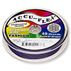 Beading wire, Accu-Flex®, nylon and stainless steel, plum purple, 49 strand, 0.019-inch diameter. Sold per 100-foot spool.