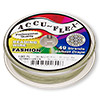 Beading wire, Accu-Flex®, nylon and stainless steel, spring green, 49 strand, 0.019-inch diameter. Sold per 100-foot spool.