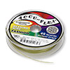 Beading wire, Accu-Flex®, olive green, 49 strand, 0.024-inch diameter. Sold per 100-foot spool.