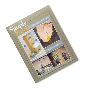 "Book, ""Simply Fused: A Glass Fusing Project Book"" by Jeanne Baruth. Sold individually."
