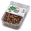 Bugle bead, Ming Tree™, glass, rainbow brown, 1/4 inch. Sold per pkg of 1/4 pound.