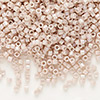 Seed bead, Delica®, glass, opaque rainbow mocha, (DB1505), #11 round. Sold per pkg of 250 grams.
