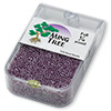 Seed bead, Ming Tree™, glass, transparent luster purple, #11 round. Sold per pkg of 1/4 pound.