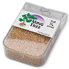 Seed bead, Ming Tree™, glass, transparent luster tan, #11 round. Sold per pkg of 1/4 pound.