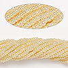 Seed bead, Preciosa Czech glass, pearl light cream, #11 round. Sold per 1/2 kilogram pkg.