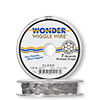 Wonder Wiggle Wire®, clear, .02-inch diameter. Sold per pkg of ten 20-inch strands.