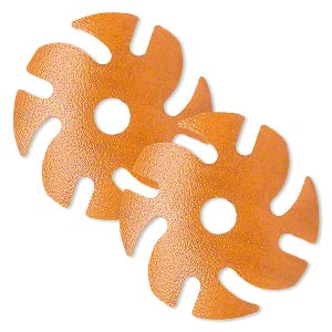 abrasive disc, 3m™ ninja™ microfinishing diamond, plastic, orange, 120 grit, 3-inch replacement disc for jooltool™. sold per pkg of 2.