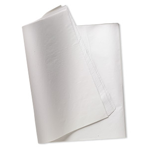 anti-tarnish paper, white, 30x10-inch rectangle. sold per pkg of 24.