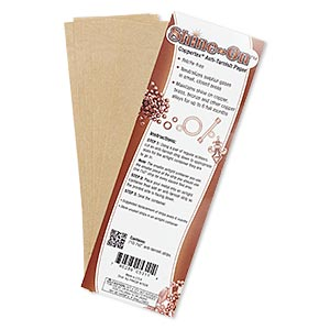 anti-tarnish strip, shine-on™ coppertex, 7x2-inch rectangle. sold per pkg of 10.