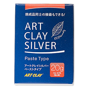 art clay silver paste, low fire, slow dry formula. sold per 20-gram pkg.