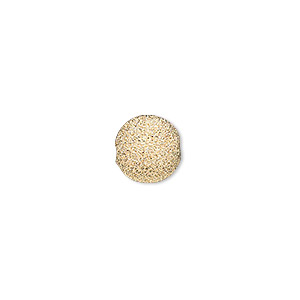 bead, 14kt gold-filled, 10mm stardust round. sold individually.