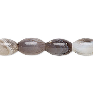 bead, botswana agate (natural), 13x8mm oval, b grade, mohs hardness 6-1/2 to 7. sold per 16-inch strand.