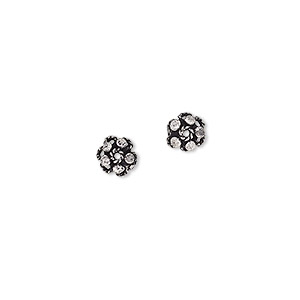 bead cap, antiqued sterling silver, 6x3mm twisted wire flower, fits 5-7mm bead. sold per pkg of 2.