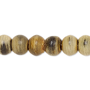 bead, horn (natural), 10x8mm drum. sold per pkg of 25.