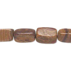 bead, italian onyx (coated), large to extra-large tumbled pebble, mohs hardness 3. sold per 15-inch strand.