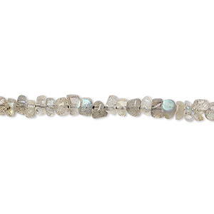 bead, labradorite (natural), 4x2mm-5x4mm hand-cut rondelle, c grade, mohs hardness 6 to 6-1/2. sold per 13-inch strand.