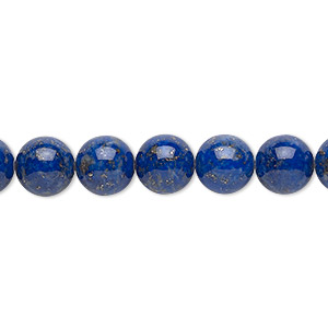 bead, lapis lazuli (natural), 8mm round, b grade, mohs hardness 5 to 6. sold per 16-inch strand.