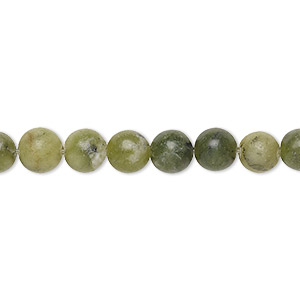 bead, multi-jade (dyed), 6mm round, c grade, mohs hardness 2-1/2 to 6. sold per 15-inch strand. minimum 3 per order.