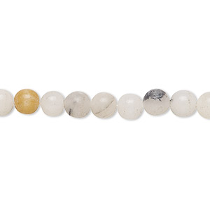 bead, multi-quartz (dyed), multicolored, 6-7mm round, c grade, mohs hardness 7. sold per 16-inch strand.