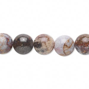 bead, pietersite (natural), 10mm round, b grade, mohs hardness 6-1/2 to 7. sold per 16-inch strand.