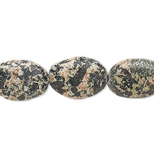 bead, pink feldspar (natural), 18x12mm-19x13mm puffed oval, c grade, mohs hardness 6 to 6-1/2. sold per 15-inch strand.