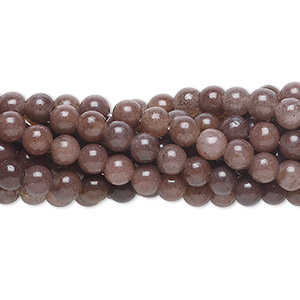 bead, purple aventurine (natural), 4mm round, c grade, mohs hardness 7. sold per pkg of (10) 16-inch strands.