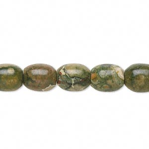 bead, rhyolite (natural), 10x8mm barrel, b+ grade, mohs hardness 6 to 6-1/2. sold per 16-inch strand.
