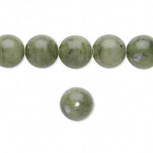 bead, saguaro jasper (natural), 10mm round, b grade, mohs hardness 2-1/2 to 6. sold per 16-inch strand.